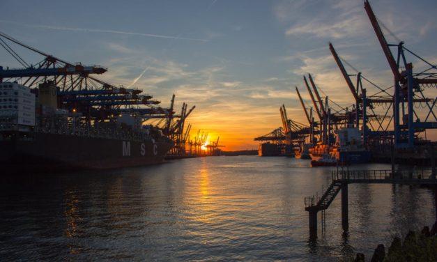 Hamburg  – największe miasto portowe w Niemczech